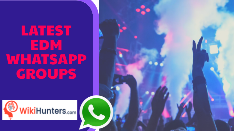 LATEST EDM WHATSAPP GROUPS 01