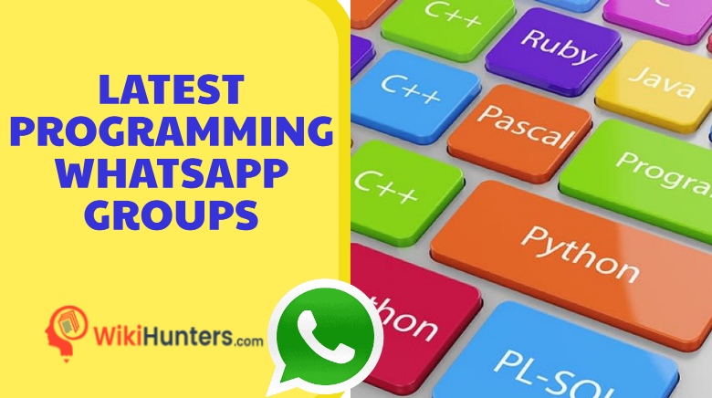 LATEST PROGRAMMING WHATSAPP GROUPS 01